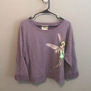 Tinkerbell crop top sweater